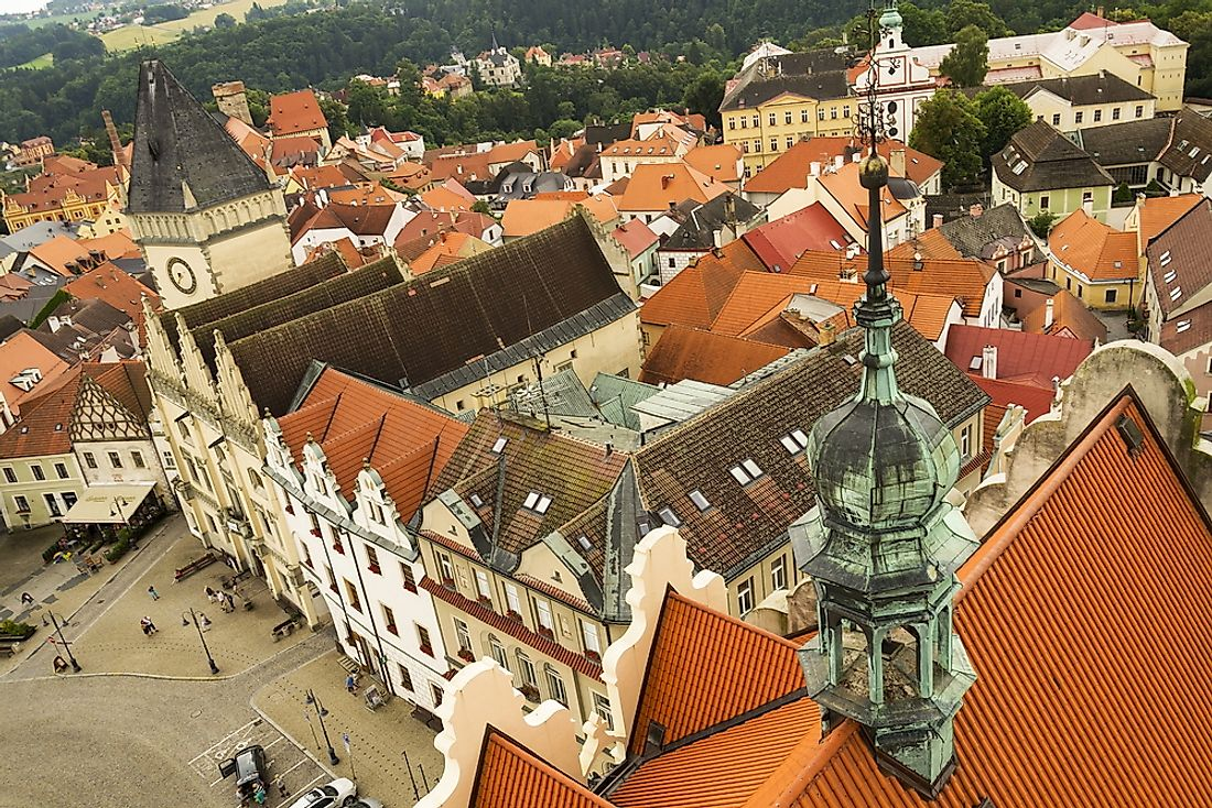 Tábor, a city that is located in the South Bohemian Region of the Czech Republic.