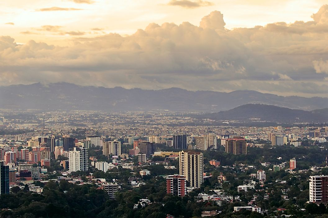 Guatemala City is the largest city in Central America.