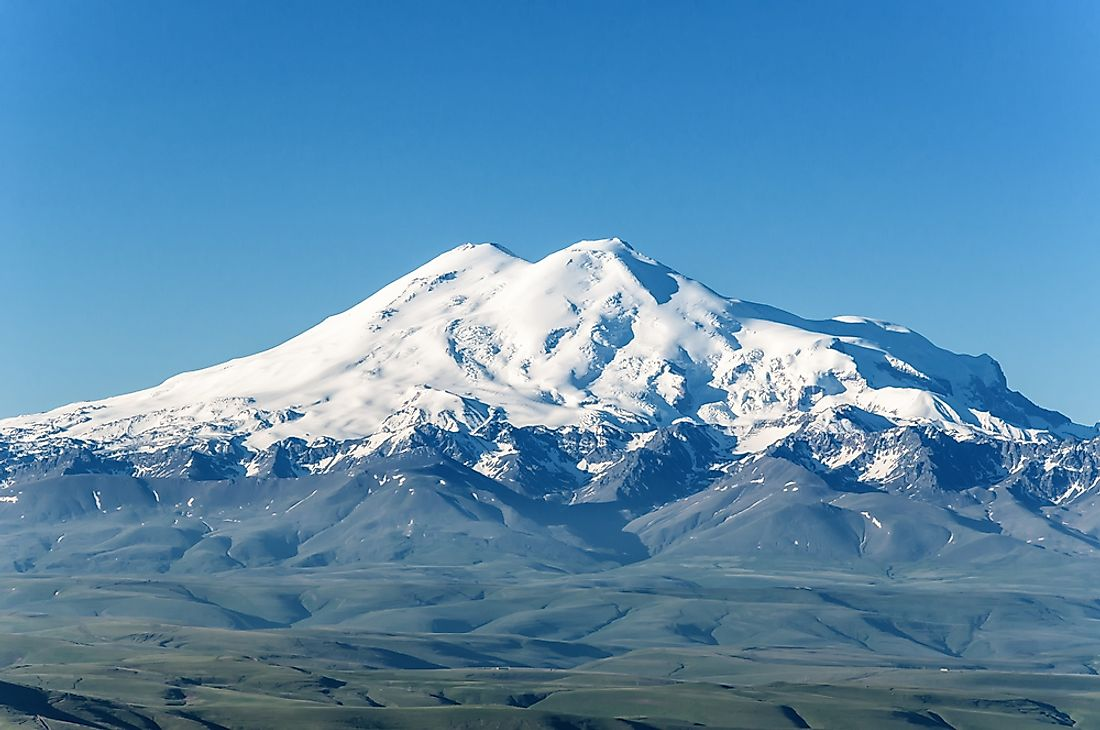 Mount Elbrus is sometimes considered to be the highest mountain in Europe.