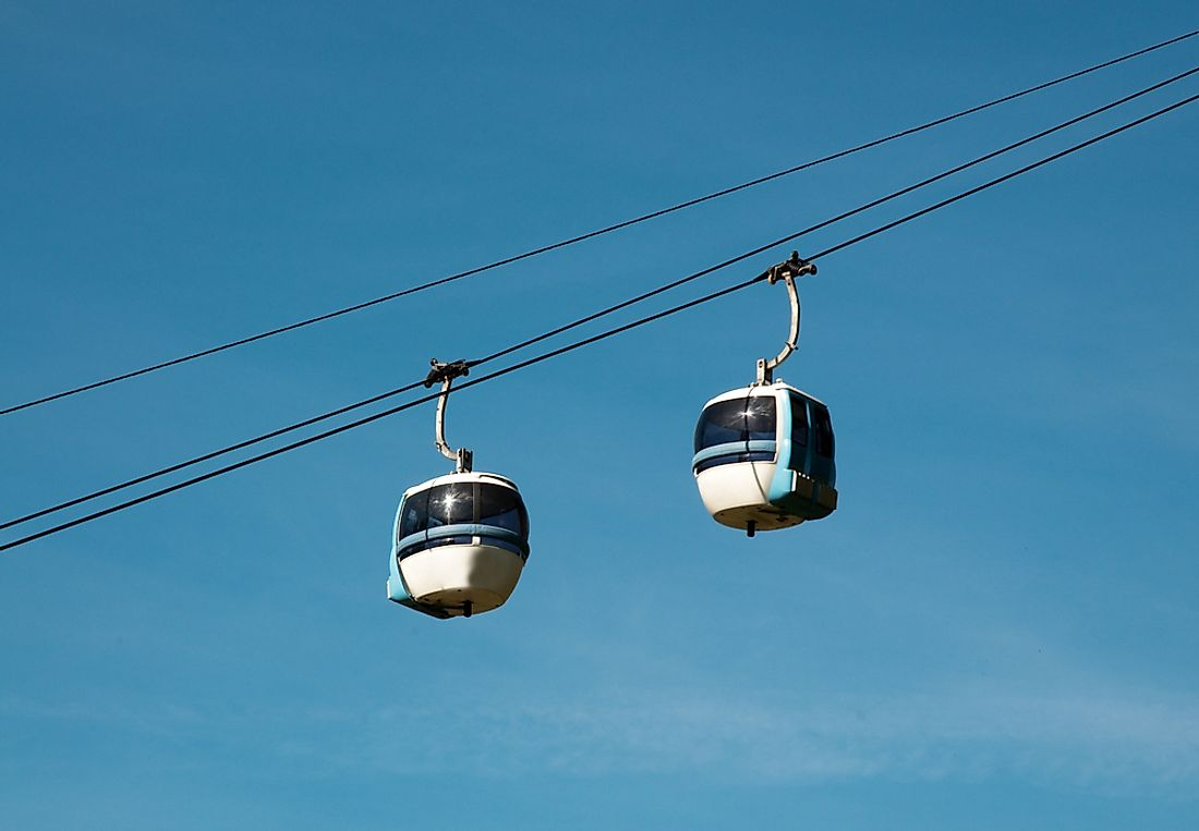 The cable cars in Cavalese were the site of the world's worst cable car disaster.