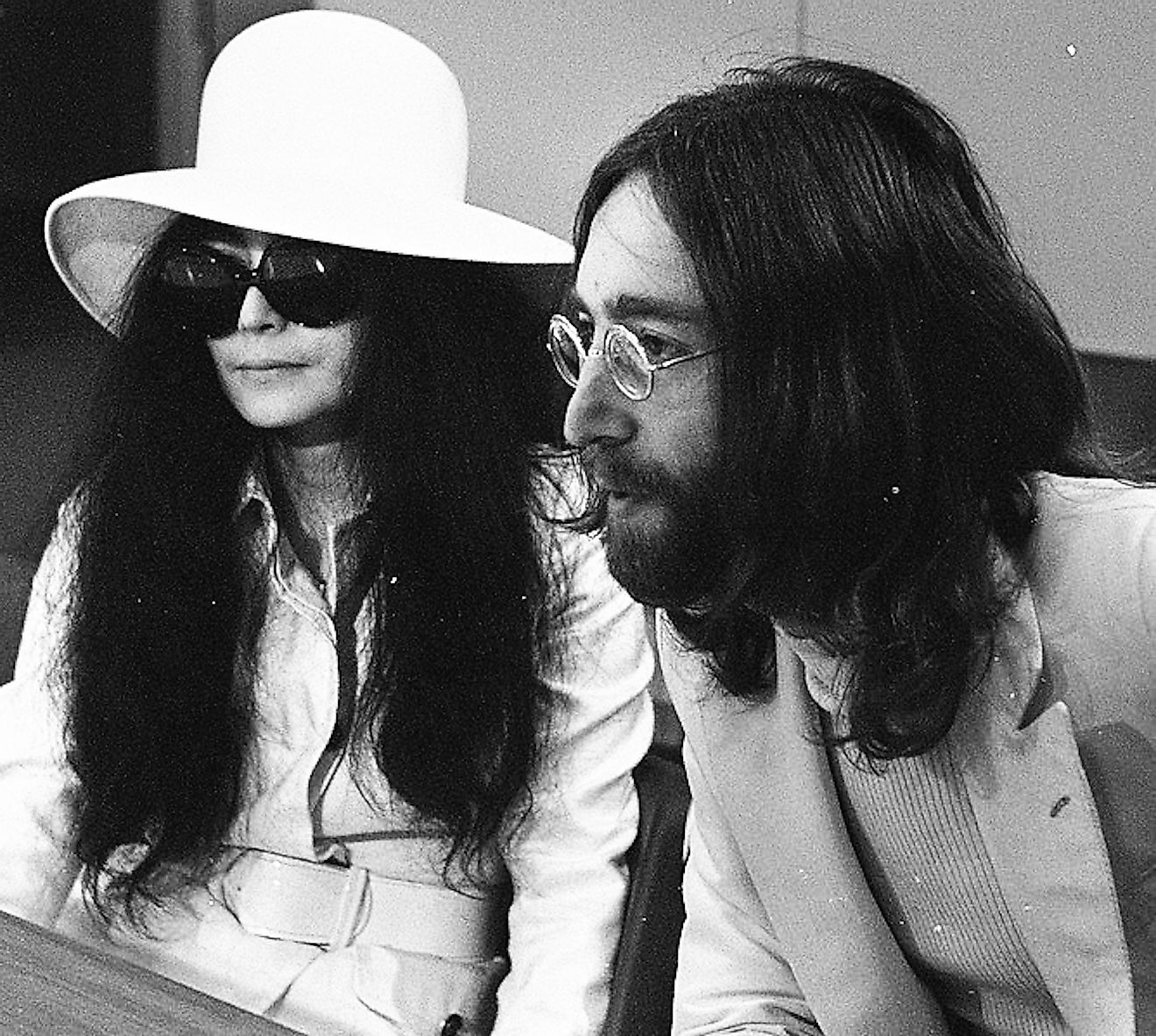 Yoko Ono and Lennon in March 1969. Image credit: Joost Evers/Anefo