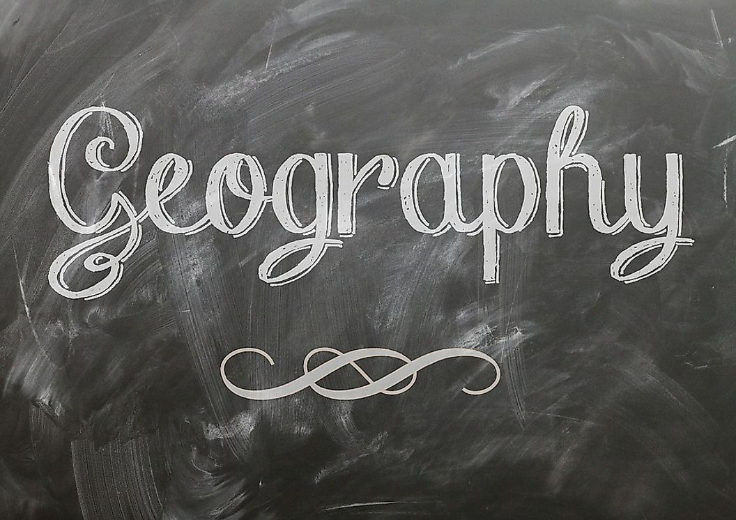 The Five Themes Of Geography Are; Location, Place, Human-Environment Interaction, Movement And Region