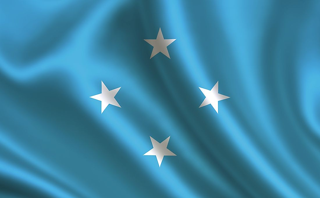 The flag of the Federated States of Micronesia.