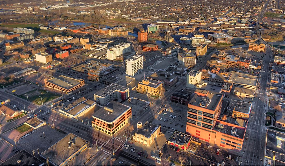 Sioux Falls is one of the fastest growing cities in the US.