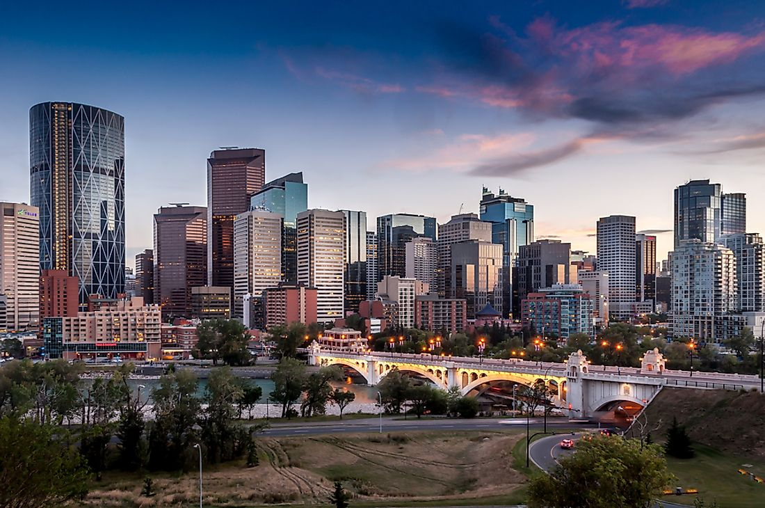 Due to the decline in value of the oil industry, the city of Calgary, Alberta, currently faces the highest rate of unemployment in Canada.