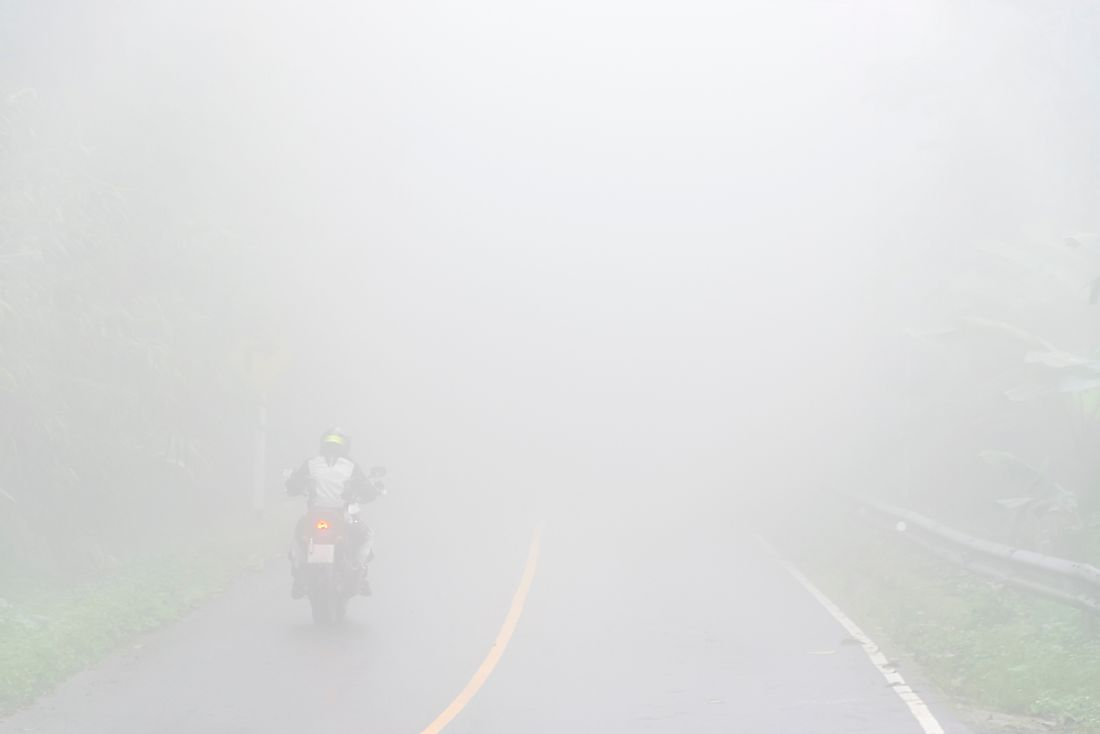 Heavy fog is behind many motor vehicle accidents and pile-ups.