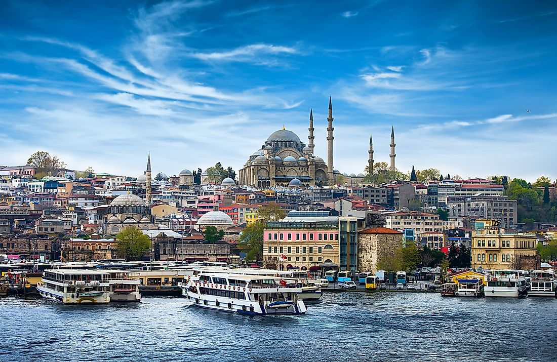 Istanbul is the largest city in Turkey.