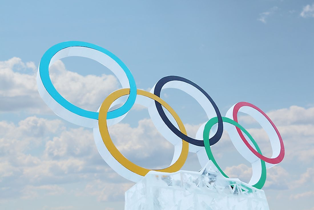 The Winter Olympics occur every four years. Photo credit: Singulyarra / Shutterstock.com.