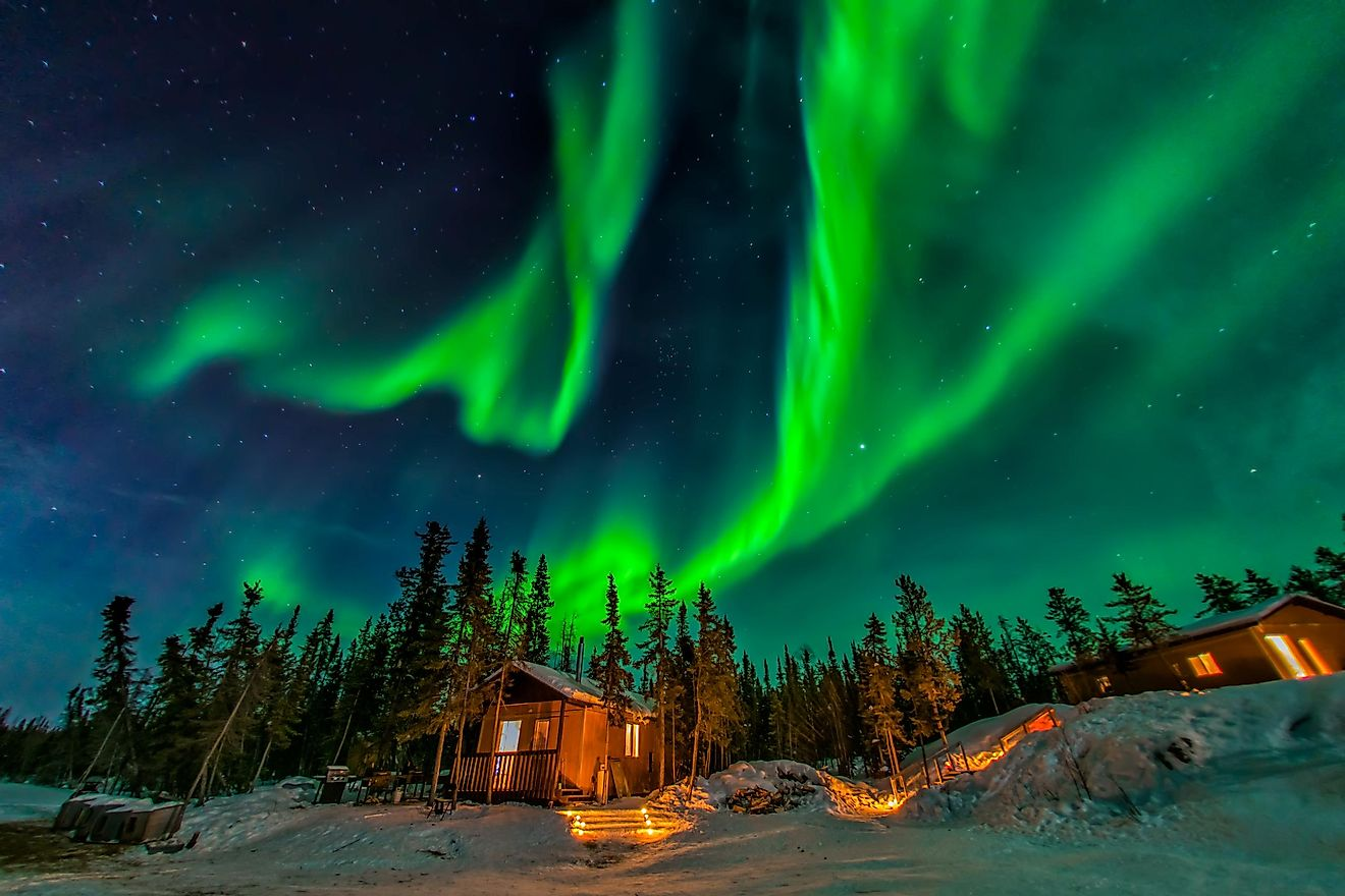 The Aurora Borealis. Image credit: Ken Phung/Shutterstock