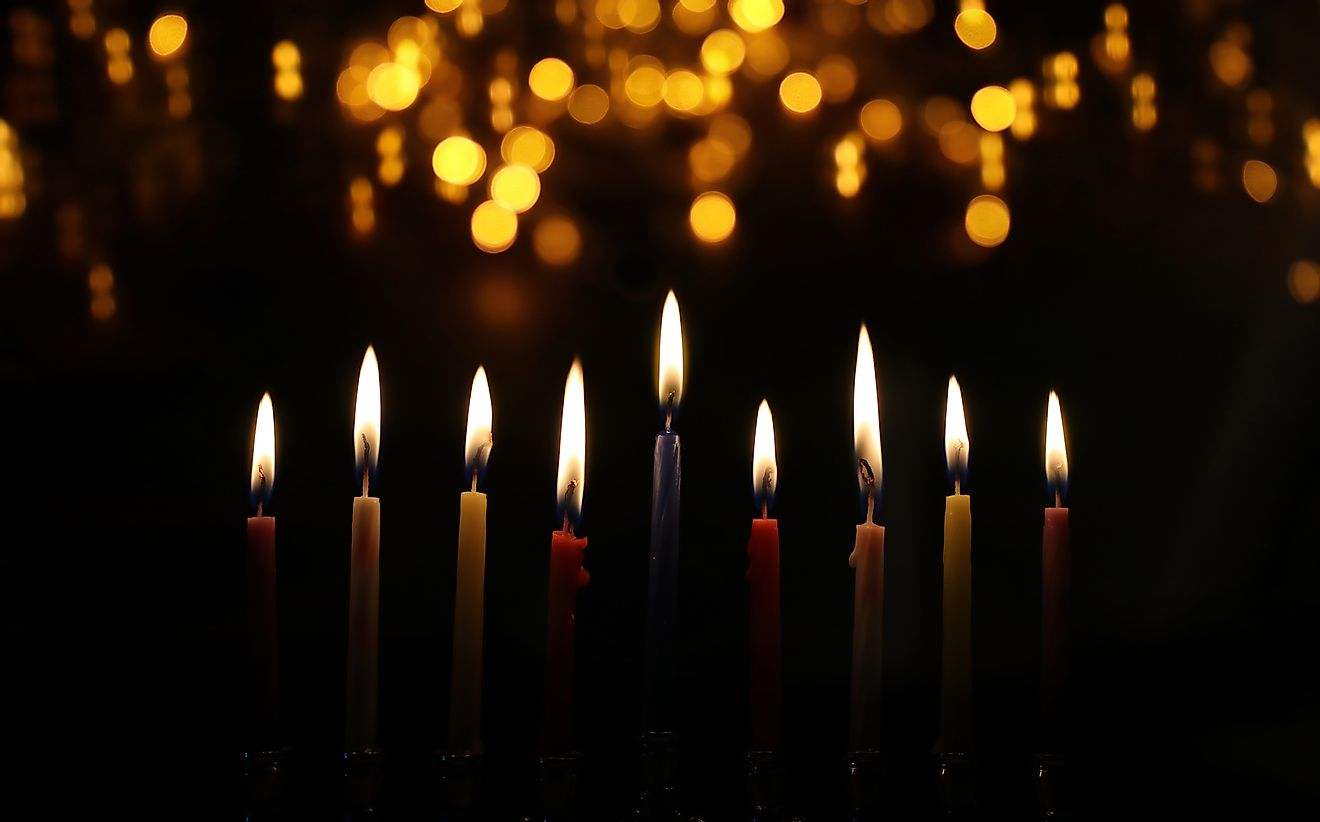 The menorah is perhaps the most famous symbol of Hannukah.