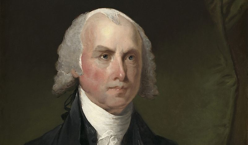 Portrait of President James Madison.
