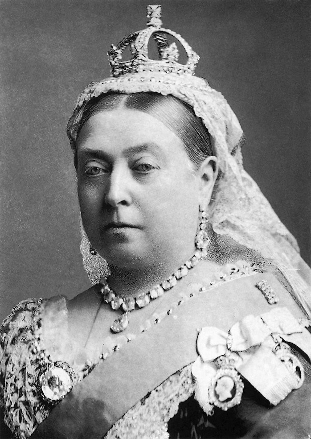 Photograph of Queen Victoria, 1882. Image credit: Alexander Bassano/Public domain