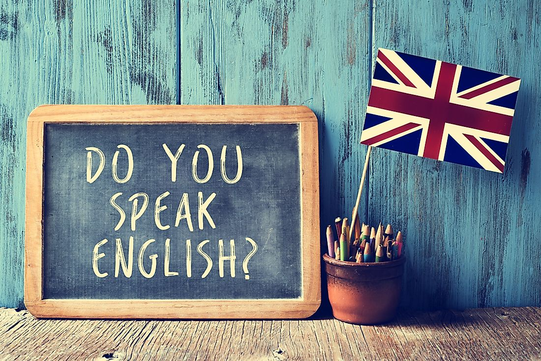 English is the most widely spoken language in the United Kingdom.