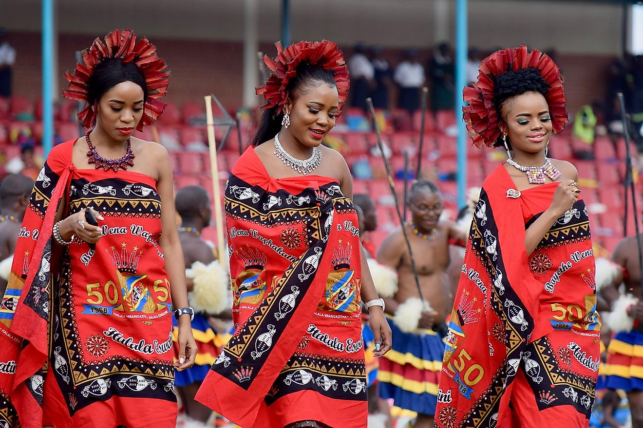 Swazi princesses by Shutterstock images