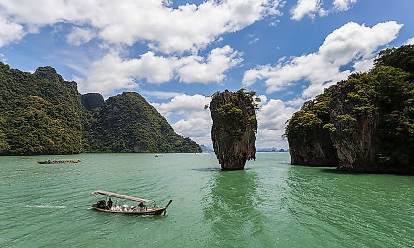 Phang Nga National Park in Thailand.