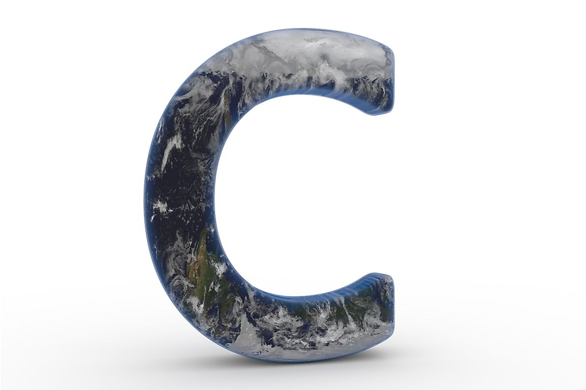 Canada and China are some of the countries around the world that start with the letter C.