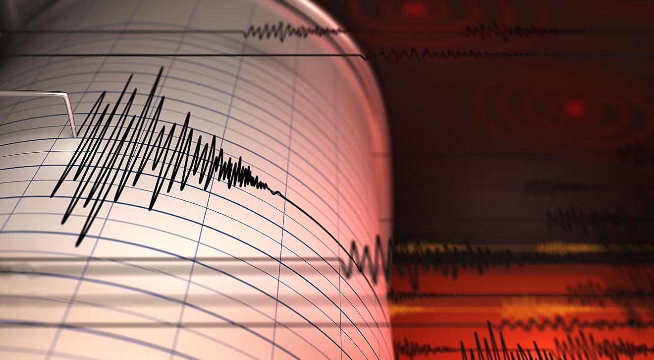 Seismographs are used to detect and record earthquakes. Image credit: Andrey VP/Shutterstock.com