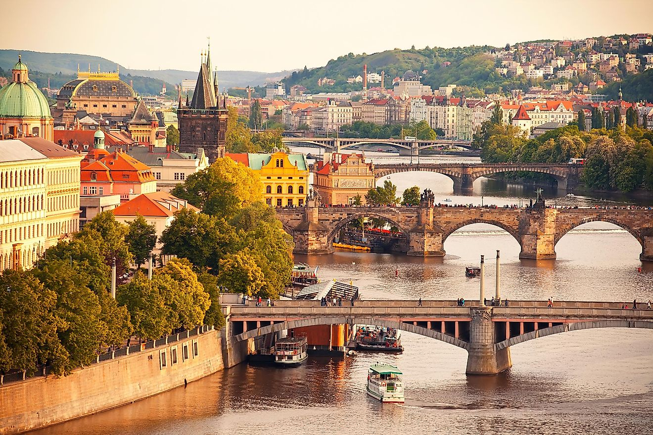This country is known as a tourist destination, so it's easy to visit and enjoy the lively nightlife of Prague.