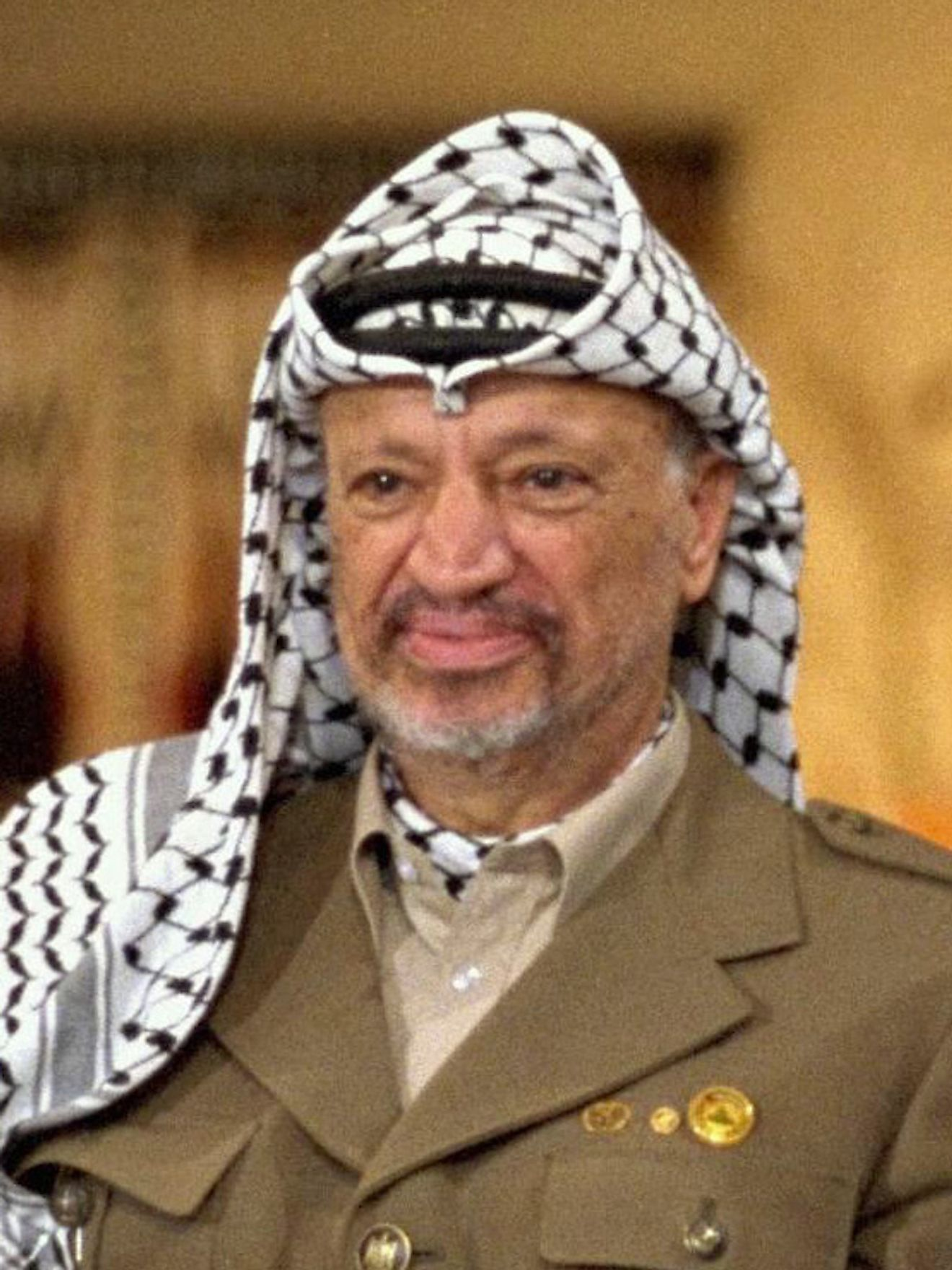 Yasser Arafat. Image credit: Government Press Office (Israel)/Wikimedia.org