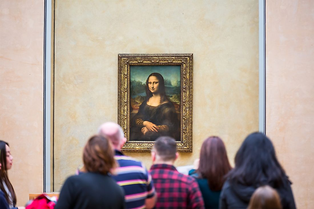 Yves Chaudron faked 6 copies of the Mona Lisa, selling them for $330,000 each.  Editorial credit: muratart / Shutterstock.com