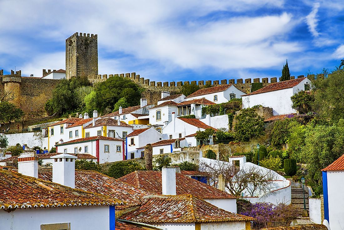 The beautiful village of Obidos.