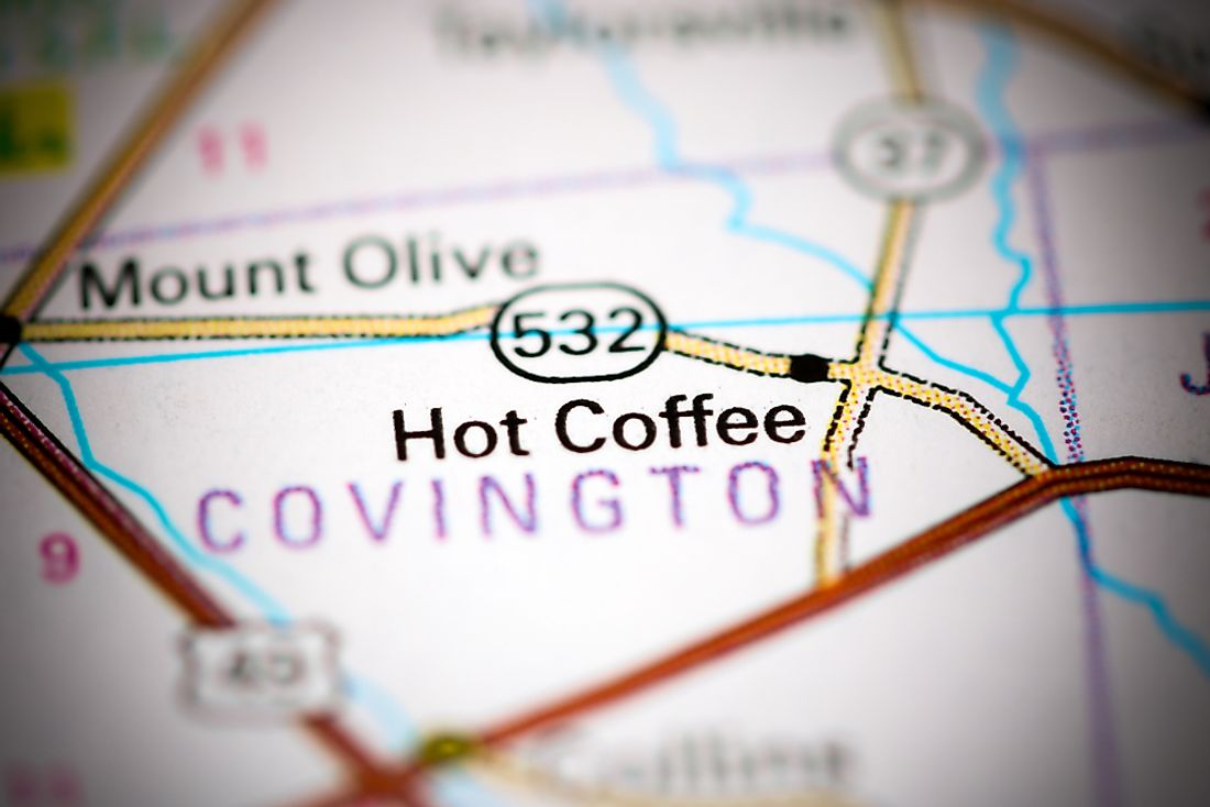 Have you ever been to Hot Coffee, Mississippi?