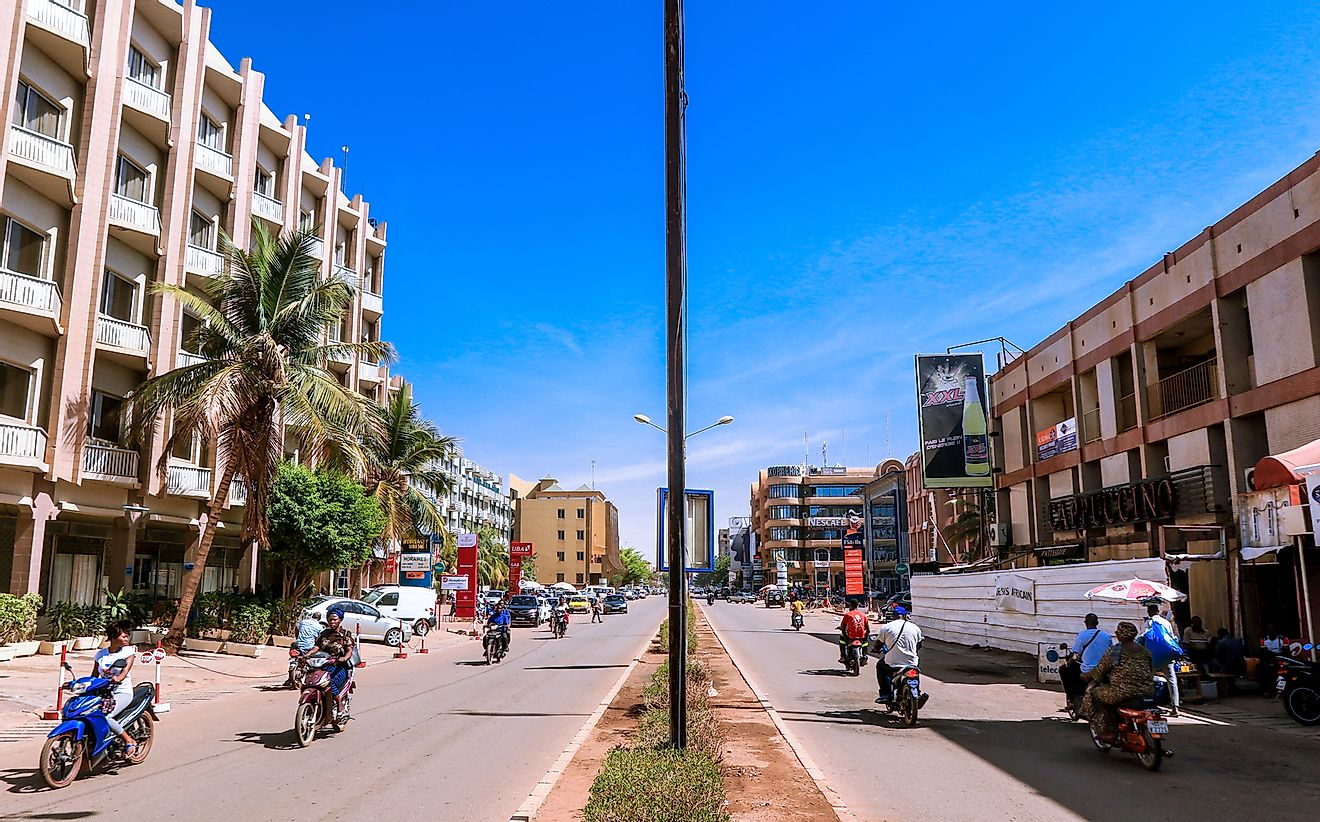 Ouagadougou​, the capital and largest city of Burkina Faso. Dave Primov / Shutterstock.com.