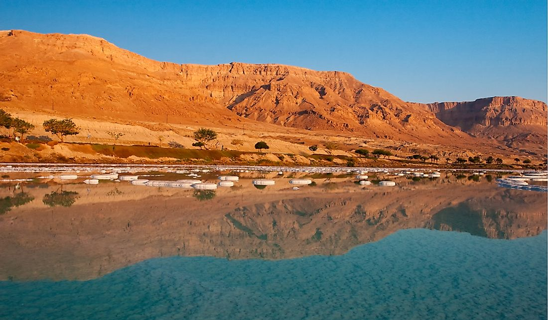 The Dead Sea is located in the Jordan Valley.