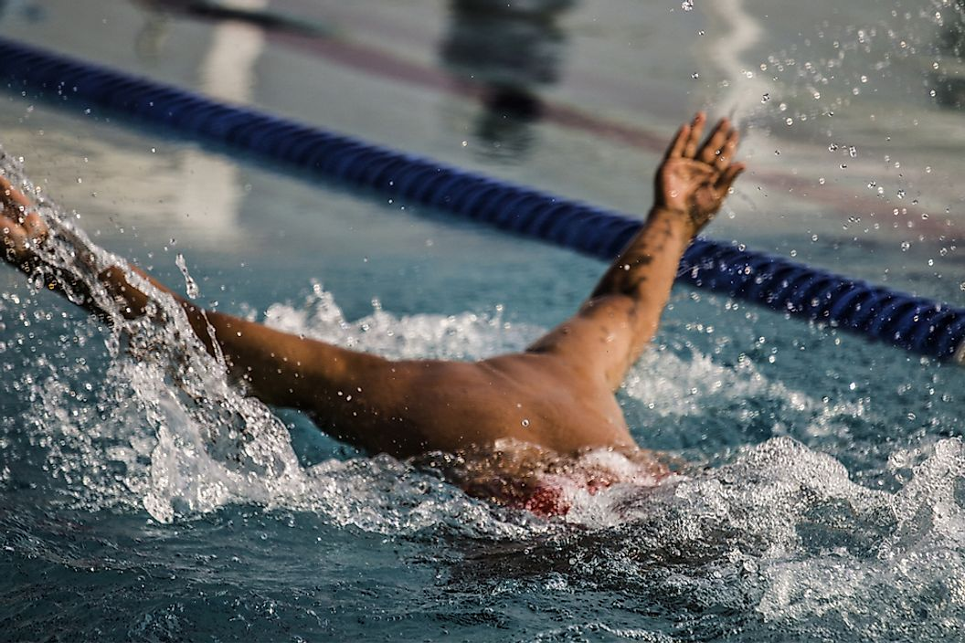 Swimmer Michael Phelps specialized in butterfly, backstroke and medley events.
