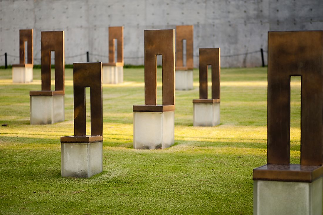 Oklahoma City Bombing  Memorial.