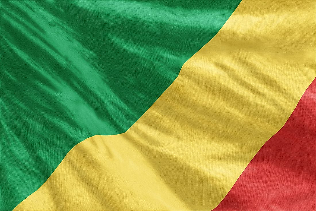 The Republic of the Congo flag.
