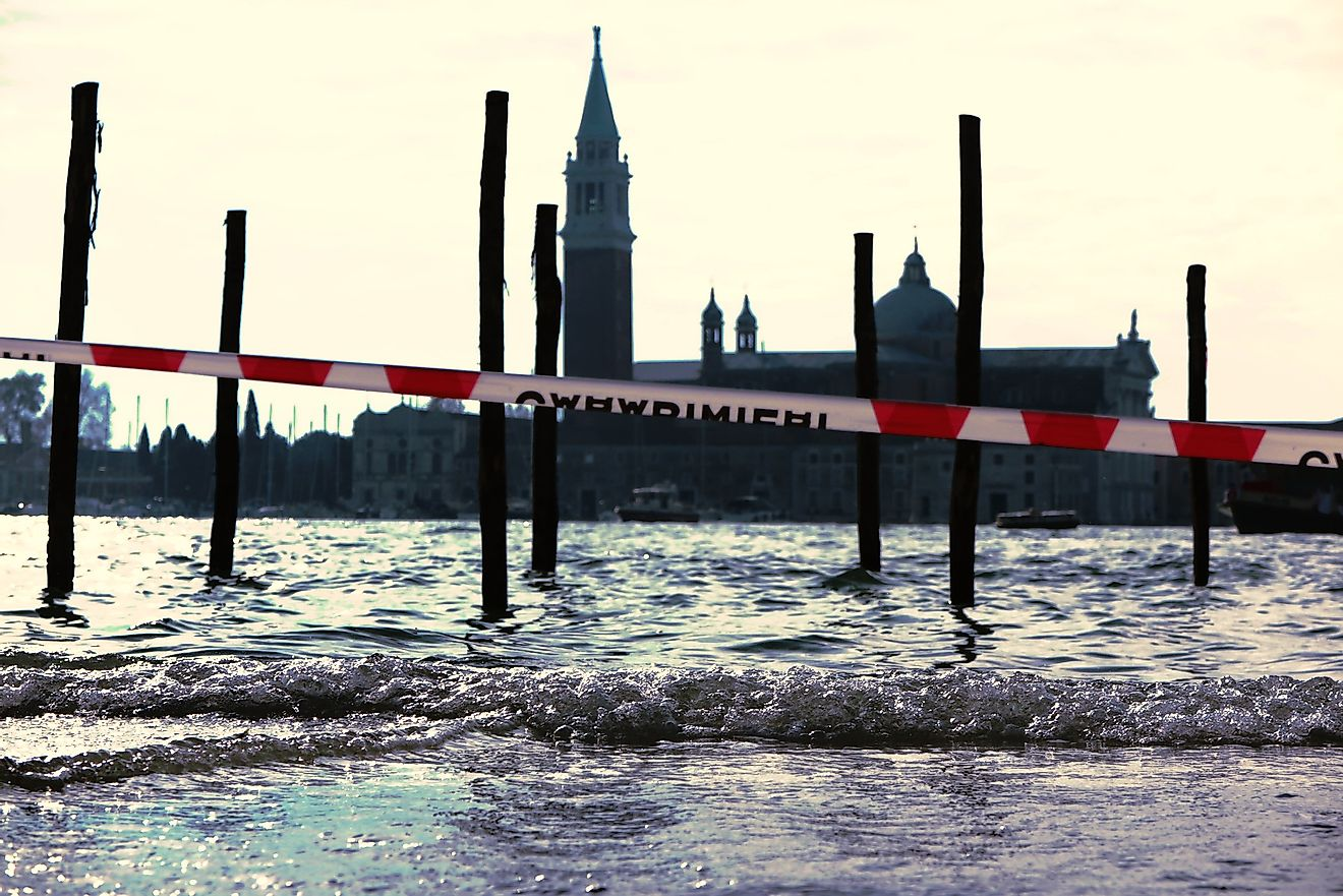 Floods in Venice. Image credit: Paula Kaspar from Pixabay