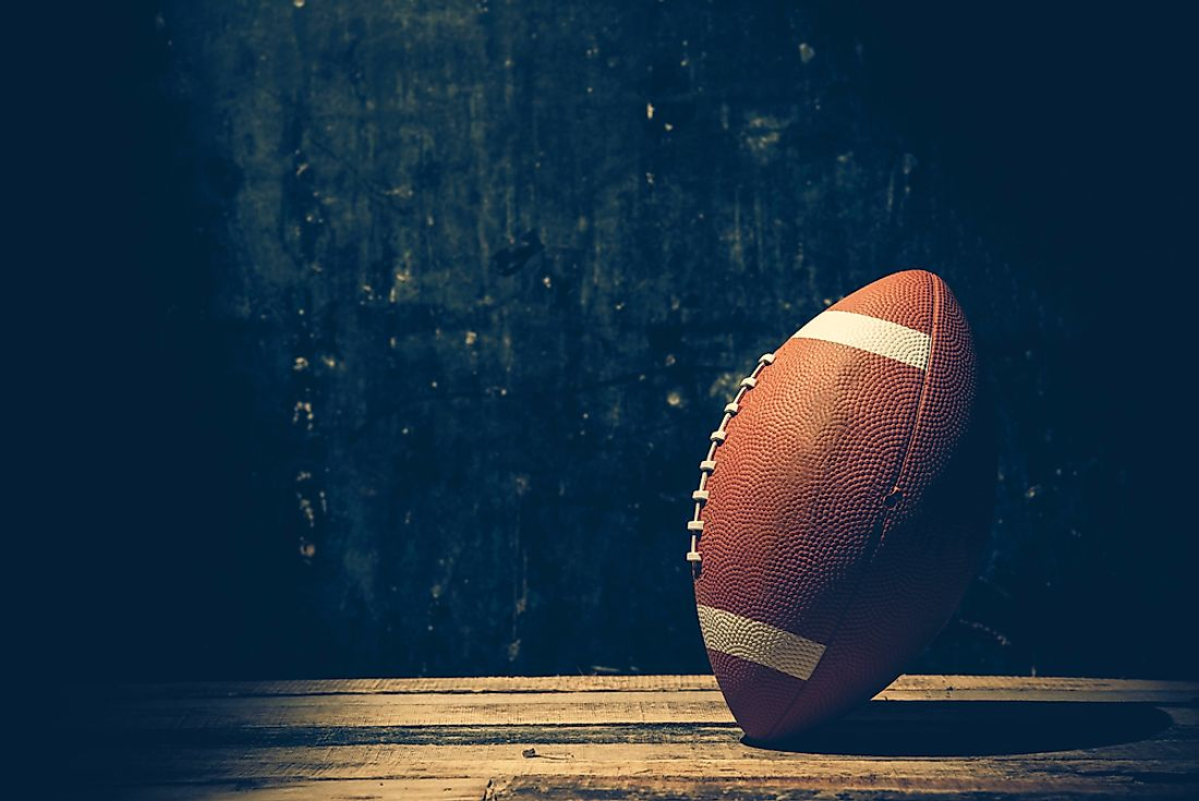 American football is one of the country's most beloved sports.