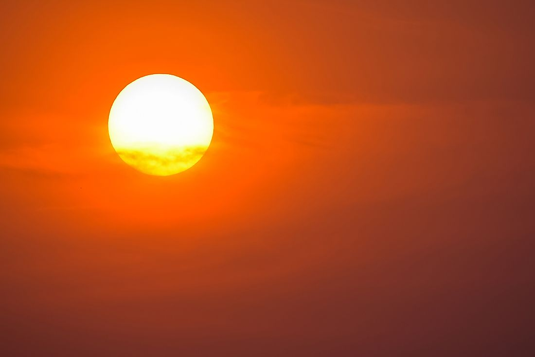 Heat waves see long bouts of extreme temperatures.