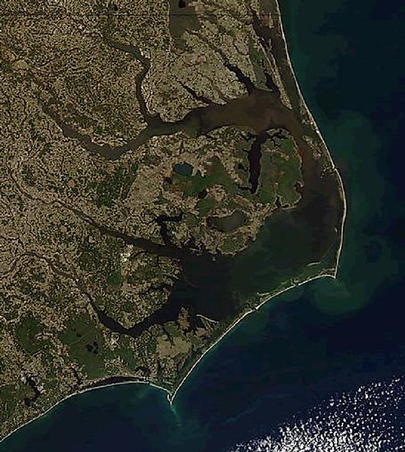 The Outer Banks of the U.S. state of North Carolina have spelled doom for many ships through the years.