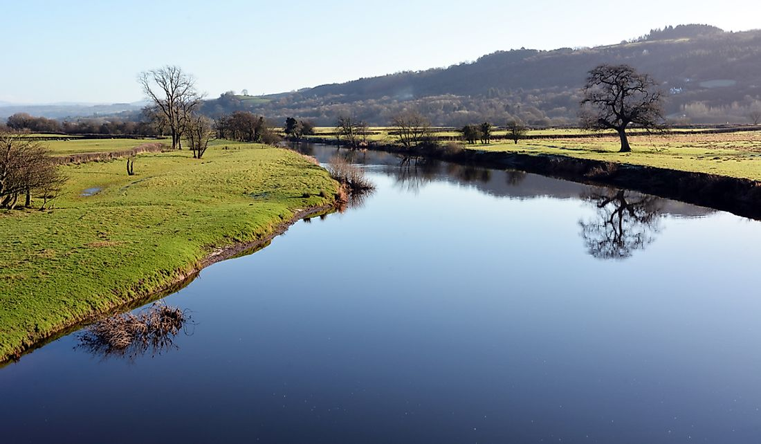 River Towy is the longest river flowing entirely within Wales.