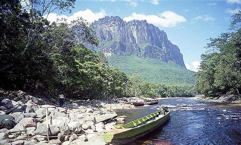 Canaima National Park in Venezuela attracts thousands of visitors due to its scenic beauty and rich biodiversity.