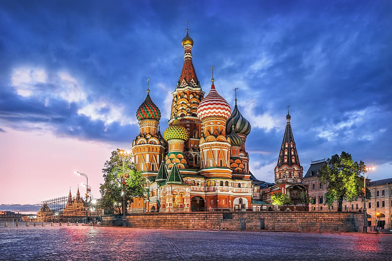 St. Basil's Cathedral, Moscow, Russia. Image credit: Baturina Yuliya/Shutterstock