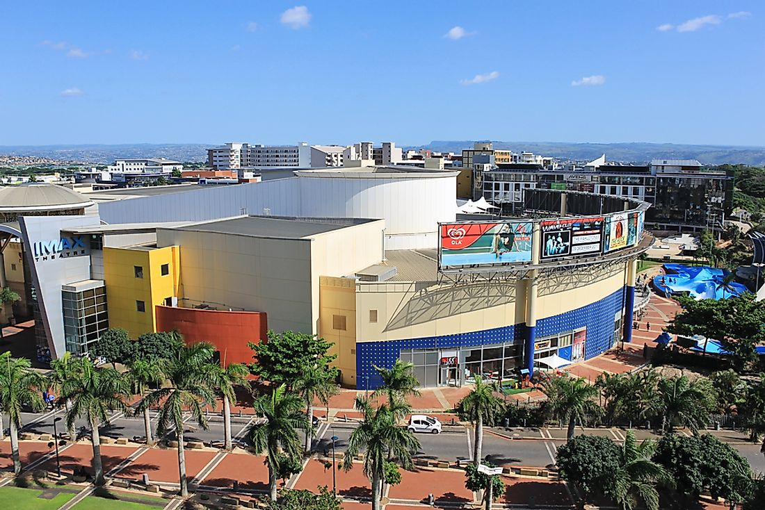 Close to two million people visit The Gateway Theatre of Shopping per month.