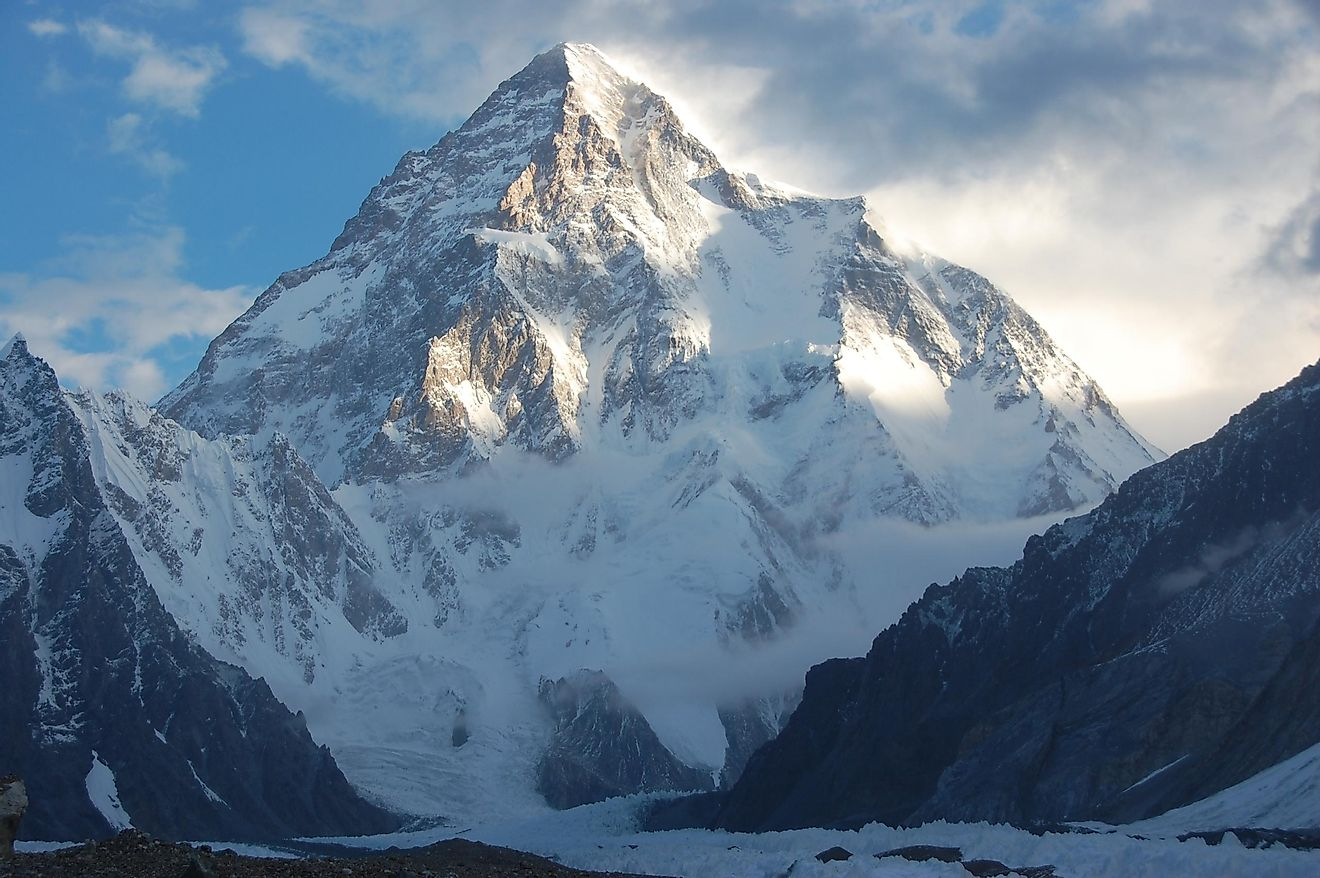 Mount K2, the second highest peak in the world is considered to be more difficult to climb than the Mount Everest.