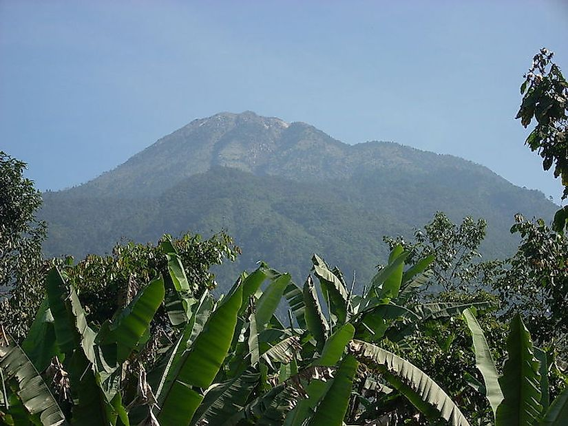Volcán Tajumulco is the highest summit of Guatemala and all of Central America.
