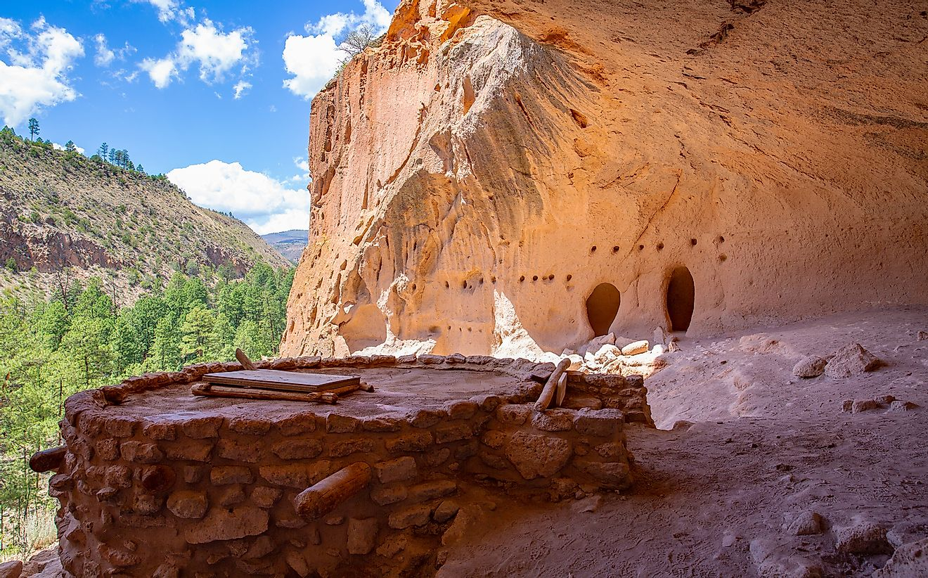 Bandelier National Monument, New Mexico.