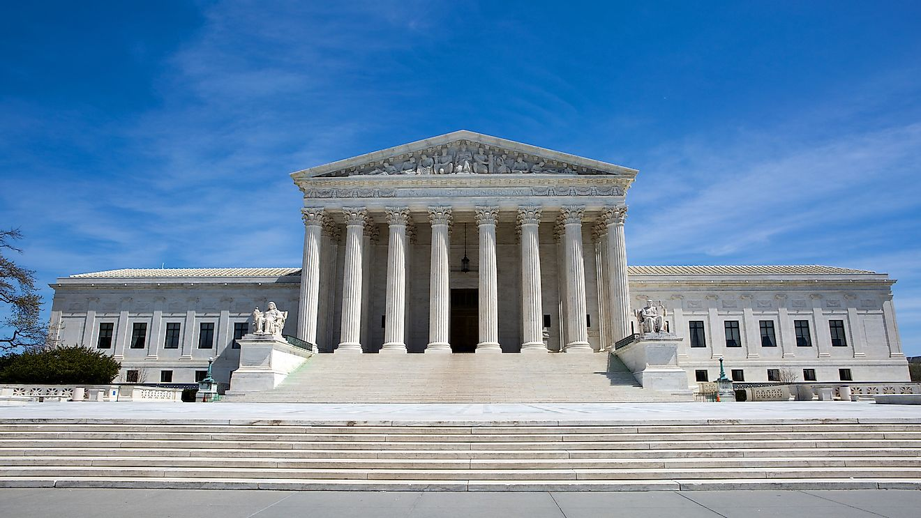 Supreme Court building in the United States of America is located in Washington, D.C., USA.