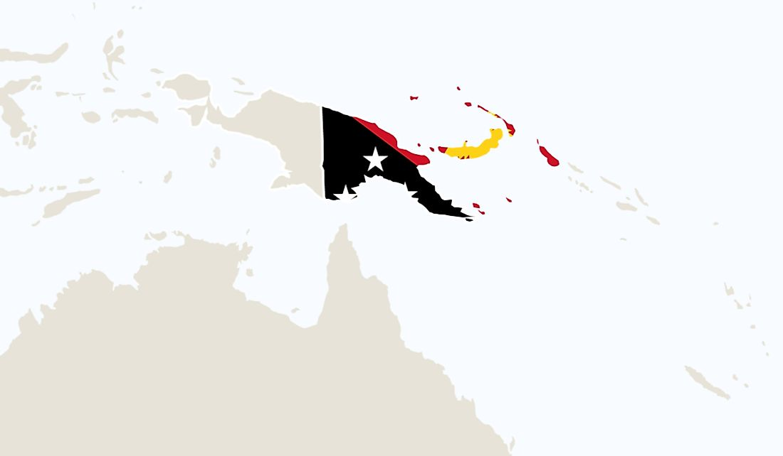 Papua New Guinea shares the island of New Guinea with Indonesia.