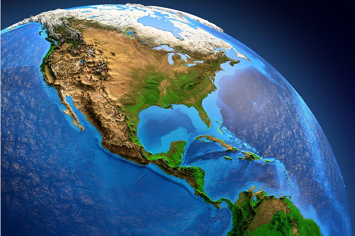 Central America is the southernmost portion of the North American continent.