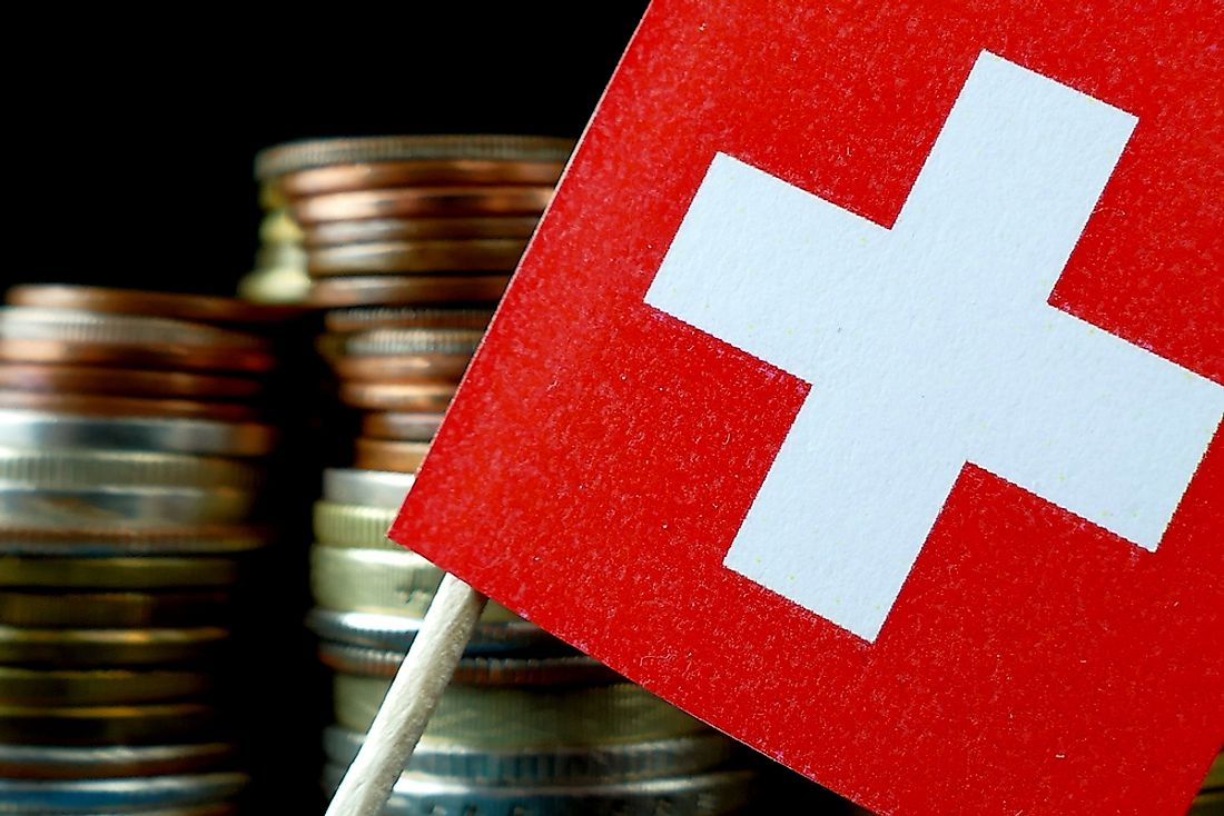 The Swiss economy is the most competitive in Europe.