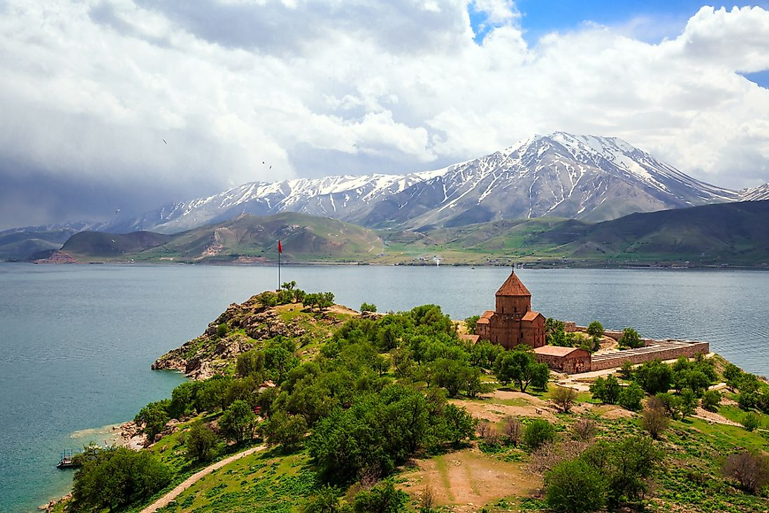 Lake Van, eastern Turkey.