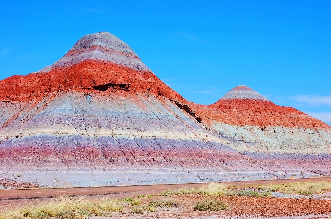 The painted desert, Arizona. Image credit: Genevieve_Andry/Shutterstock.com
