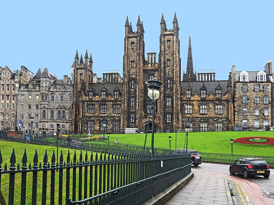 University of Edinburgh - Educational Institutions Around the World - WorldAtlas