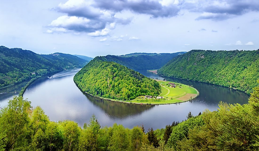 The Danube is the second longest river in Europe.